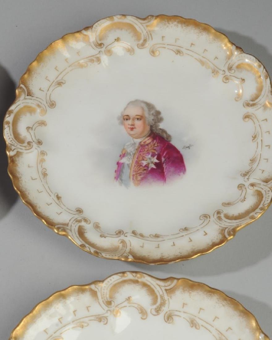 Set of 6 Limoges Portrait Small Plates - 6