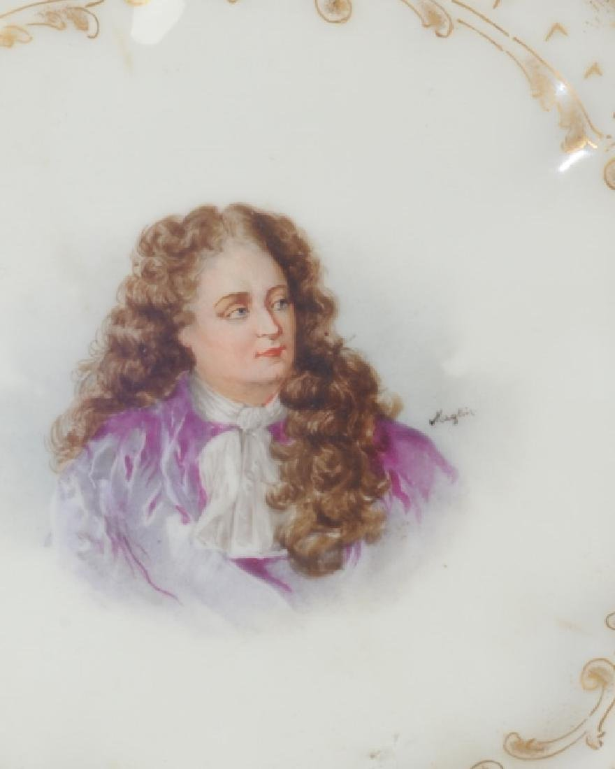 Set of 6 Limoges Portrait Small Plates - 9