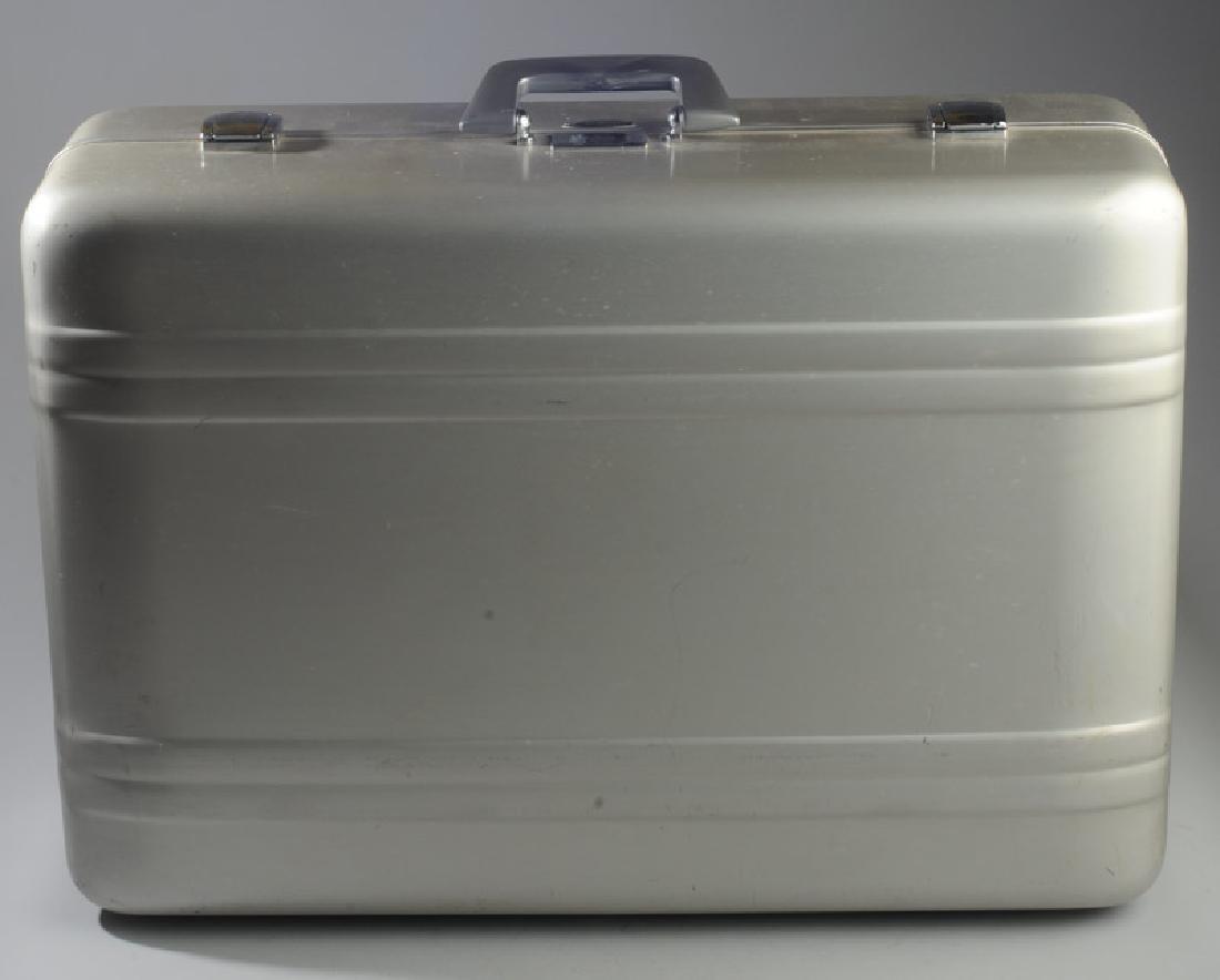 Vintage Zero Halliburton Aluminum Suitcase