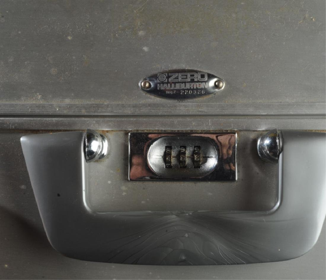 Vintage Zero Halliburton Aluminum Suitcase - 2