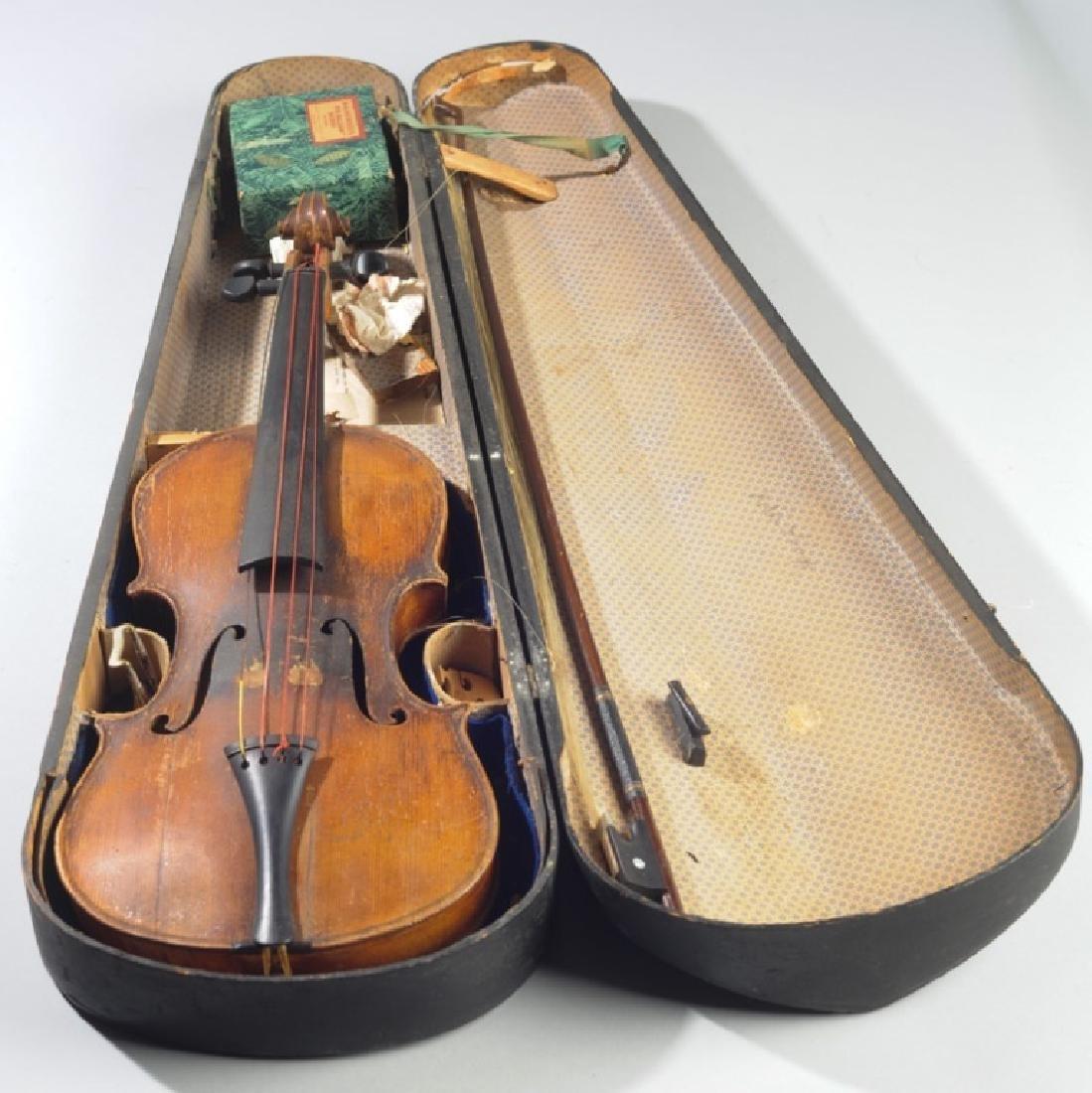Antique Stradivarius Style Violin