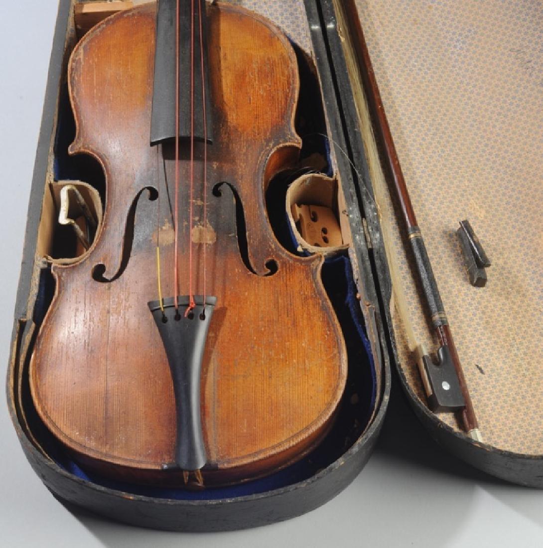 Antique Stradivarius Style Violin - 2