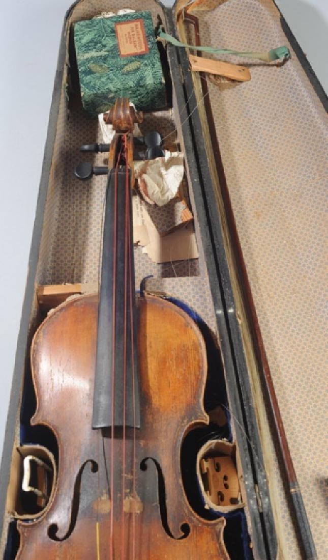 Antique Stradivarius Style Violin - 3