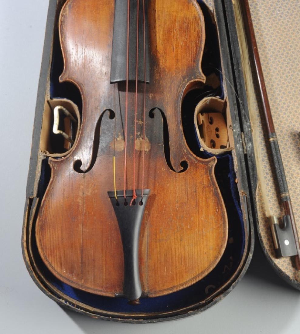 Antique Stradivarius Style Violin - 4