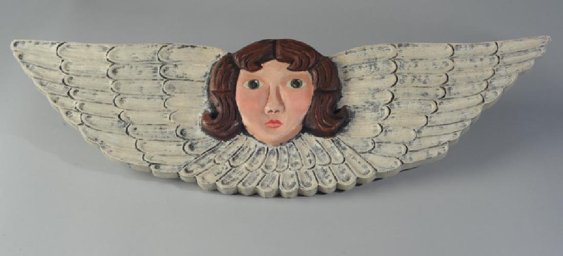 Nancy Thomas Angel Carving