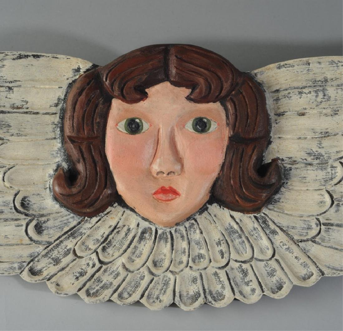 Nancy Thomas Angel Carving - 2