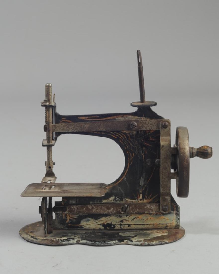 Vintage Miniature Hand Crank Sewing Machine