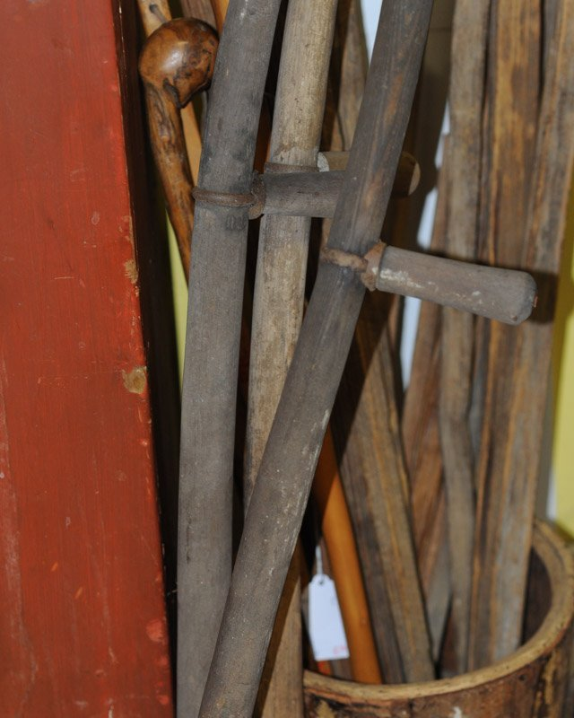 Lot of Early Scythes & Pitchforks - 2