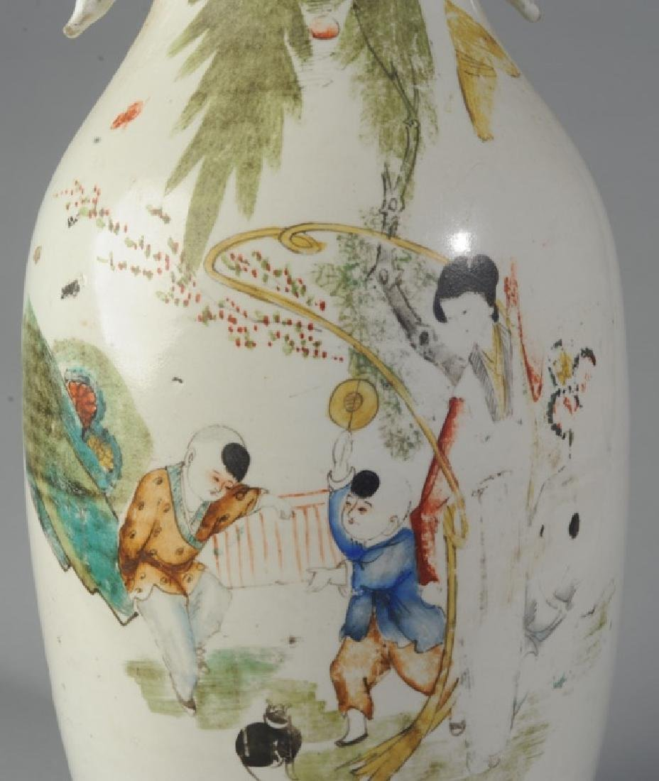 Large Chinese Republic Period Porcelain Vase - 3