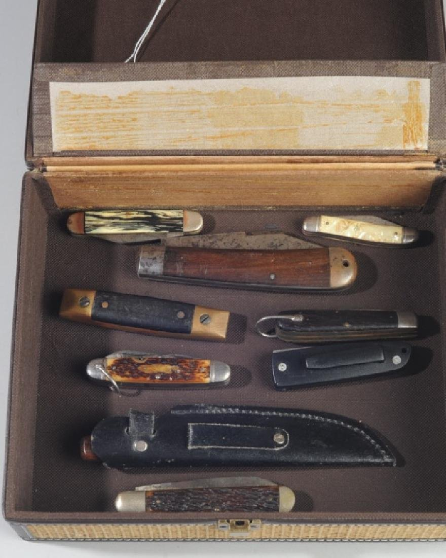 Vintage Pocket Knives in a Box