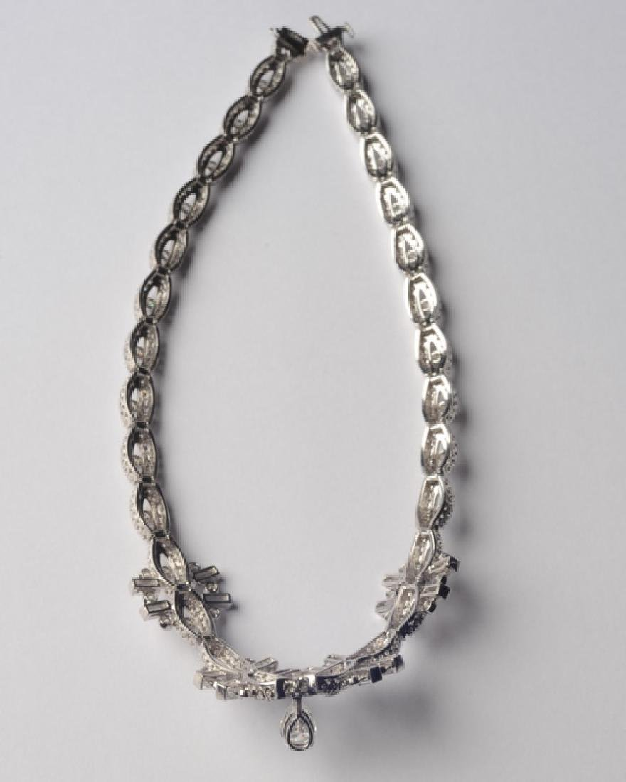 Lady's Platinum and Diamond Necklace - 5