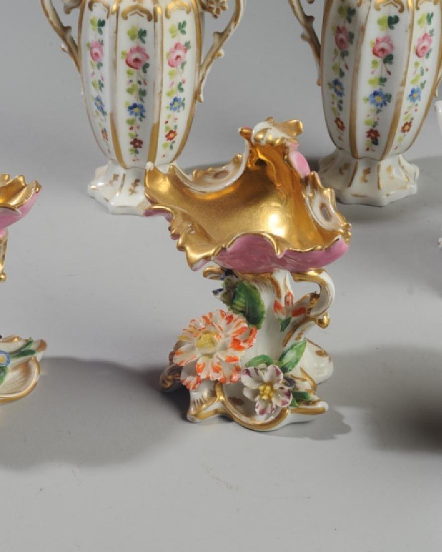 Lot of Diminutive Old Paris Pieces - 3