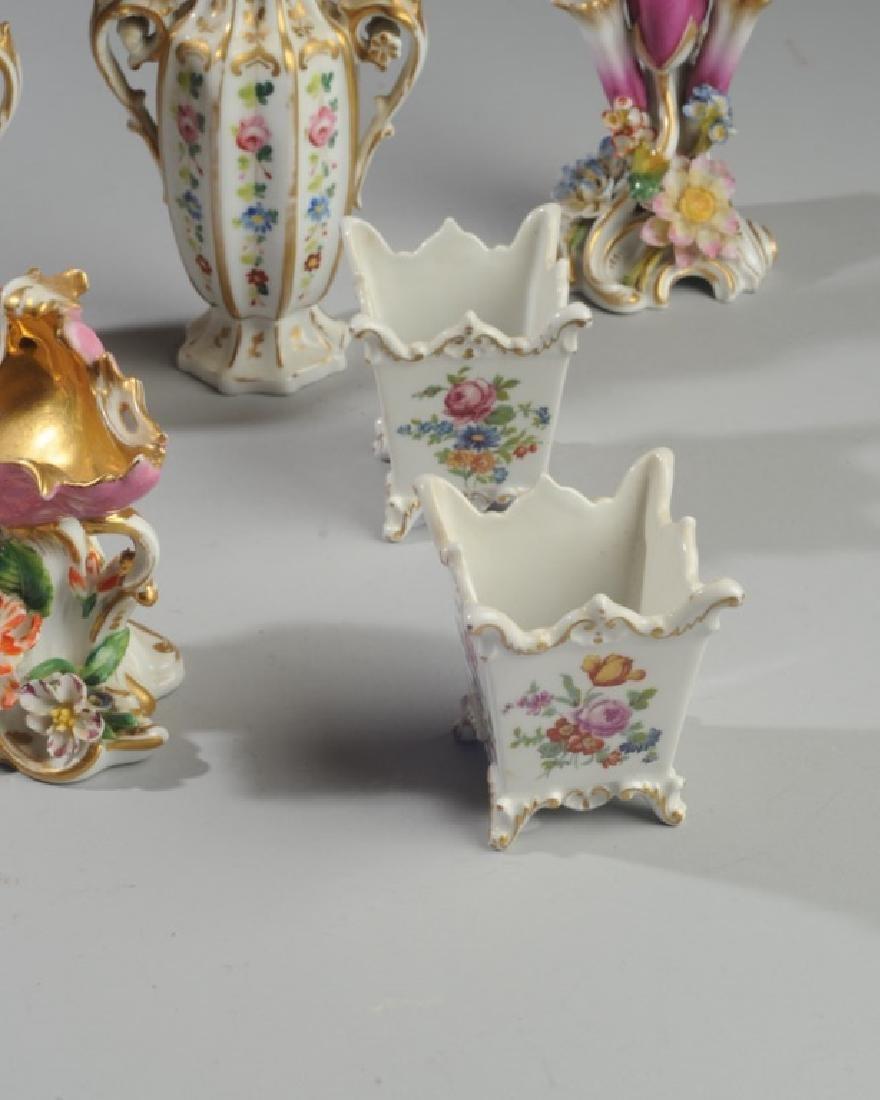 Lot of Diminutive Old Paris Pieces - 4