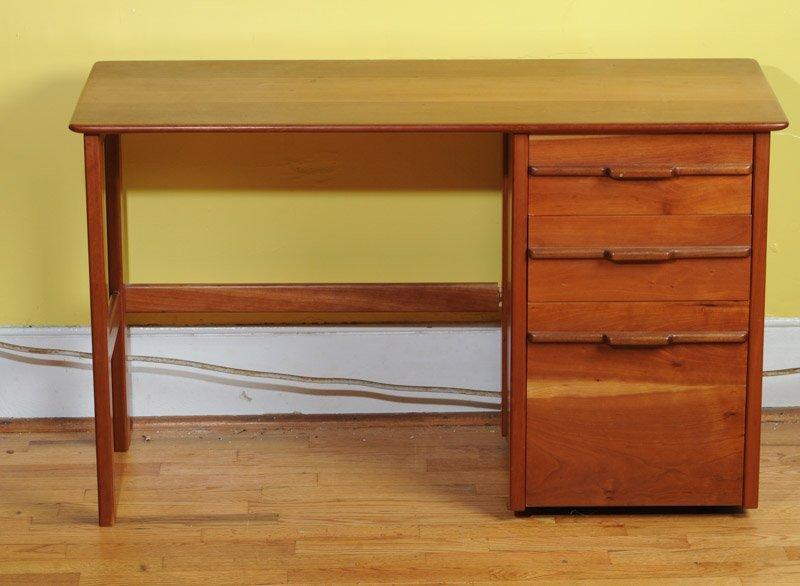 Mid Century Modern Design Cherry Desk