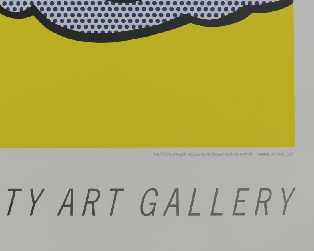 """Roy Lichtenstein - """"Thinking of Him"""" - 2"""