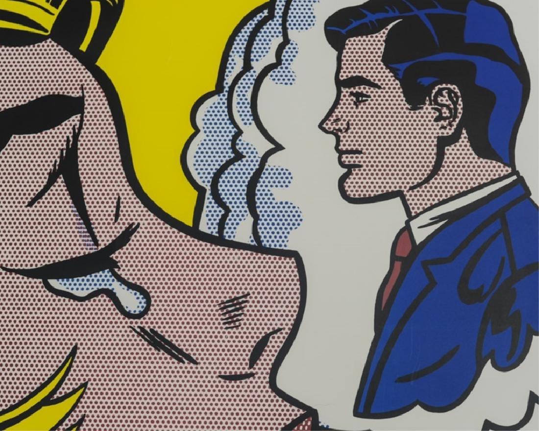 """Roy Lichtenstein - """"Thinking of Him"""" - 4"""