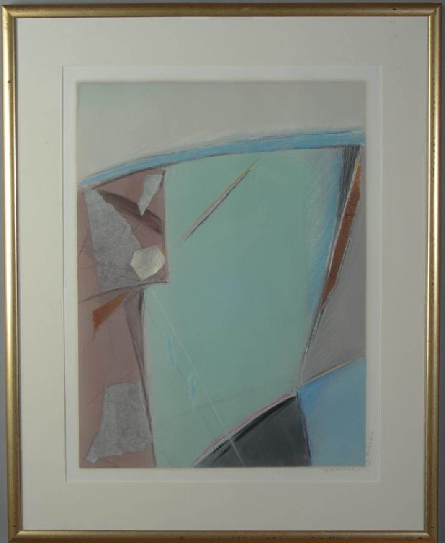 Emanuel Elio..? Abstract Lithograph