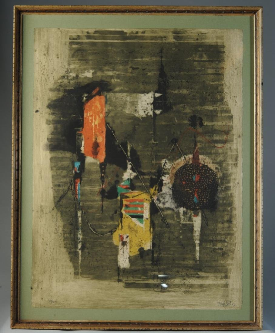 Johnny Friedlaender (1912 - 1992) Aquatint Etching