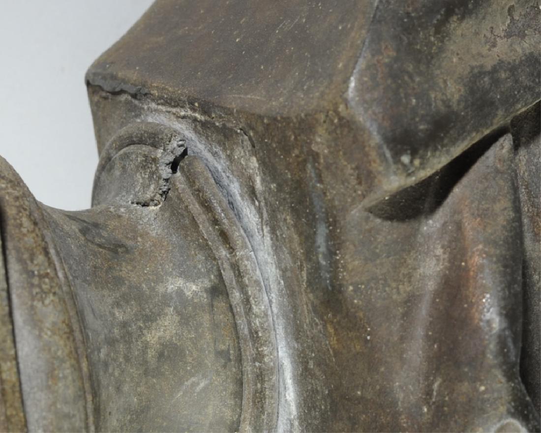Antique Guillemin Spelter Bust of Dante - 7