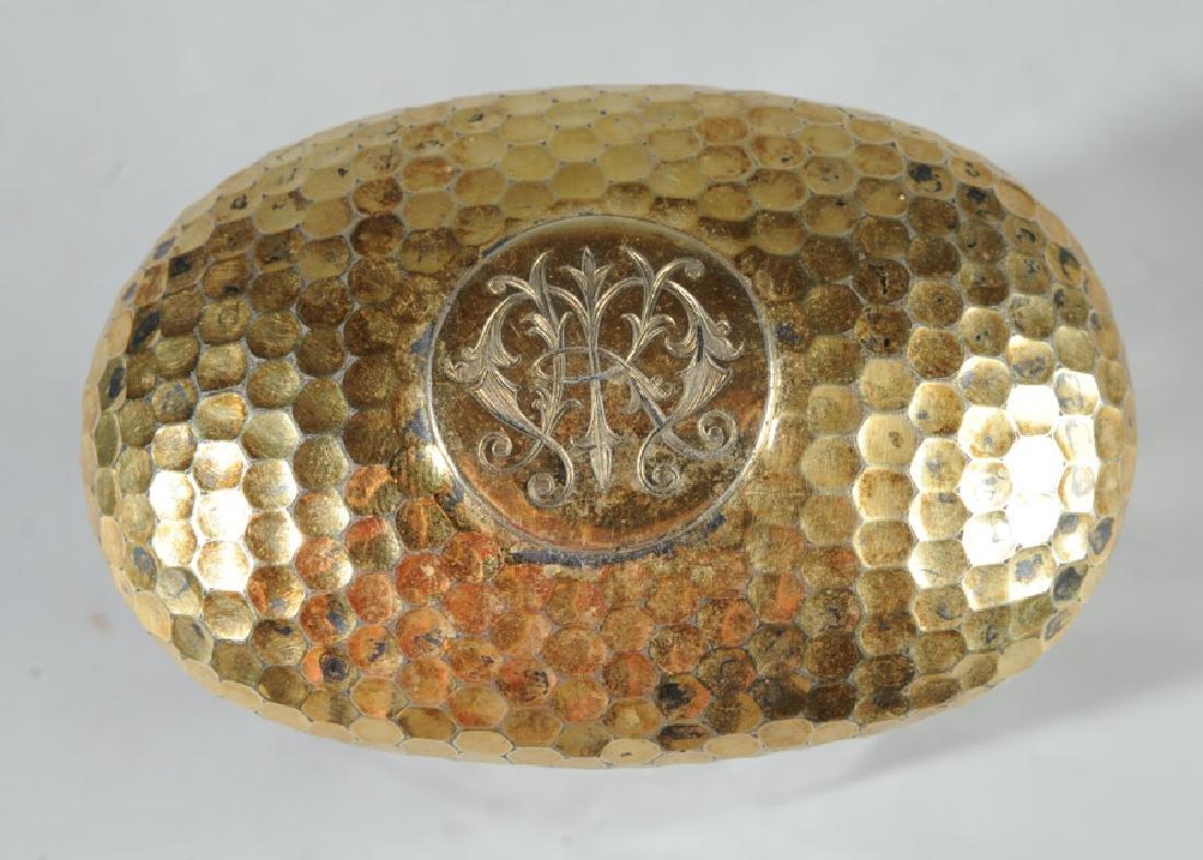 19th C. English Sterling & Glass Dresser Jar - 2