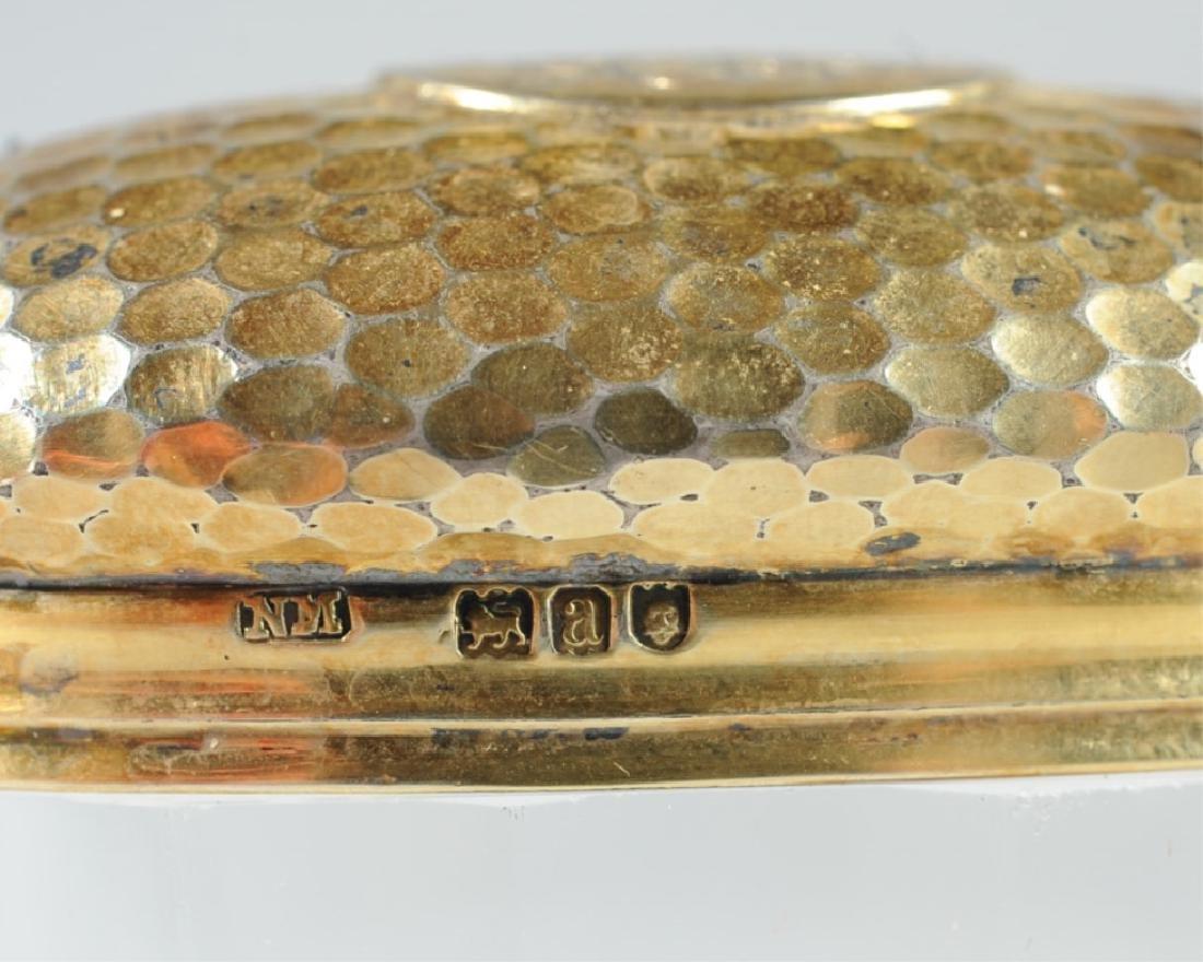 19th C. English Sterling & Glass Dresser Jar - 3