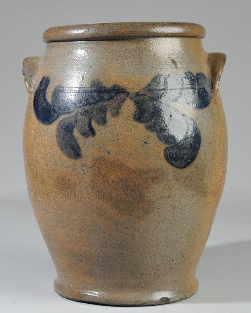 Antique Ovoid Stoneware Crock