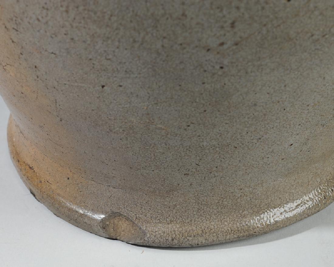 Antique Ovoid Stoneware Crock - 5