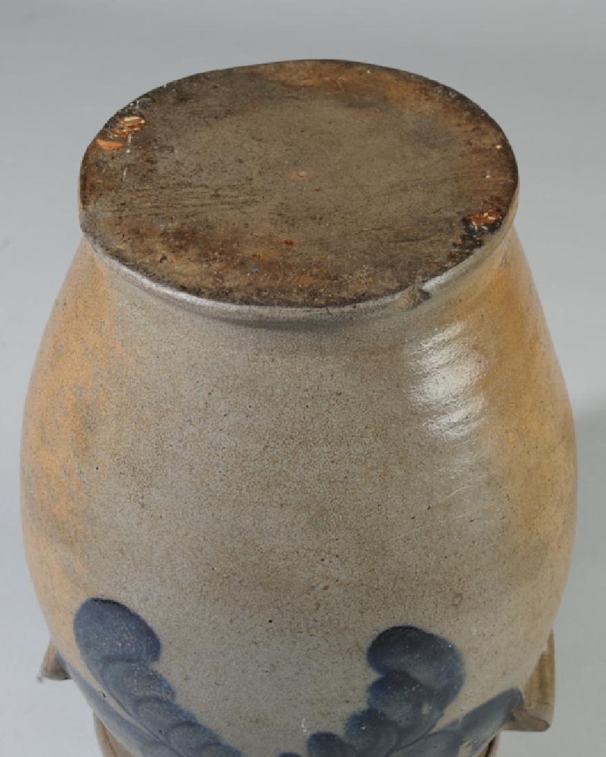 Antique Ovoid Stoneware Crock - 8