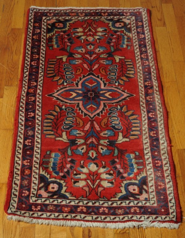 Persian Hand Made Wool Throw Rug
