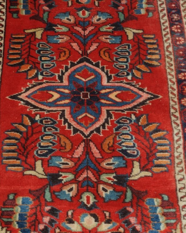 Persian Hand Made Wool Throw Rug - 2