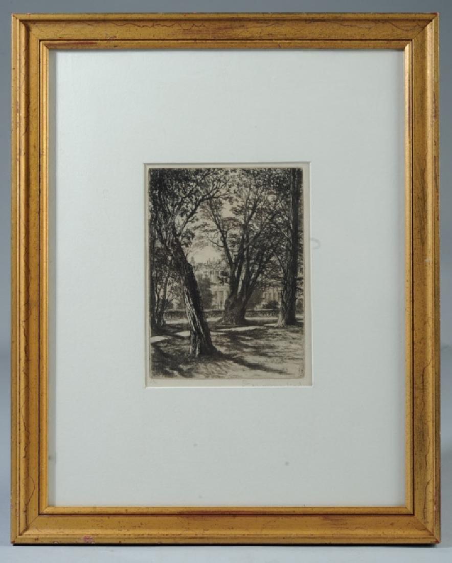 Sir Francis Seymour Haden (1818 - 1910) Etching