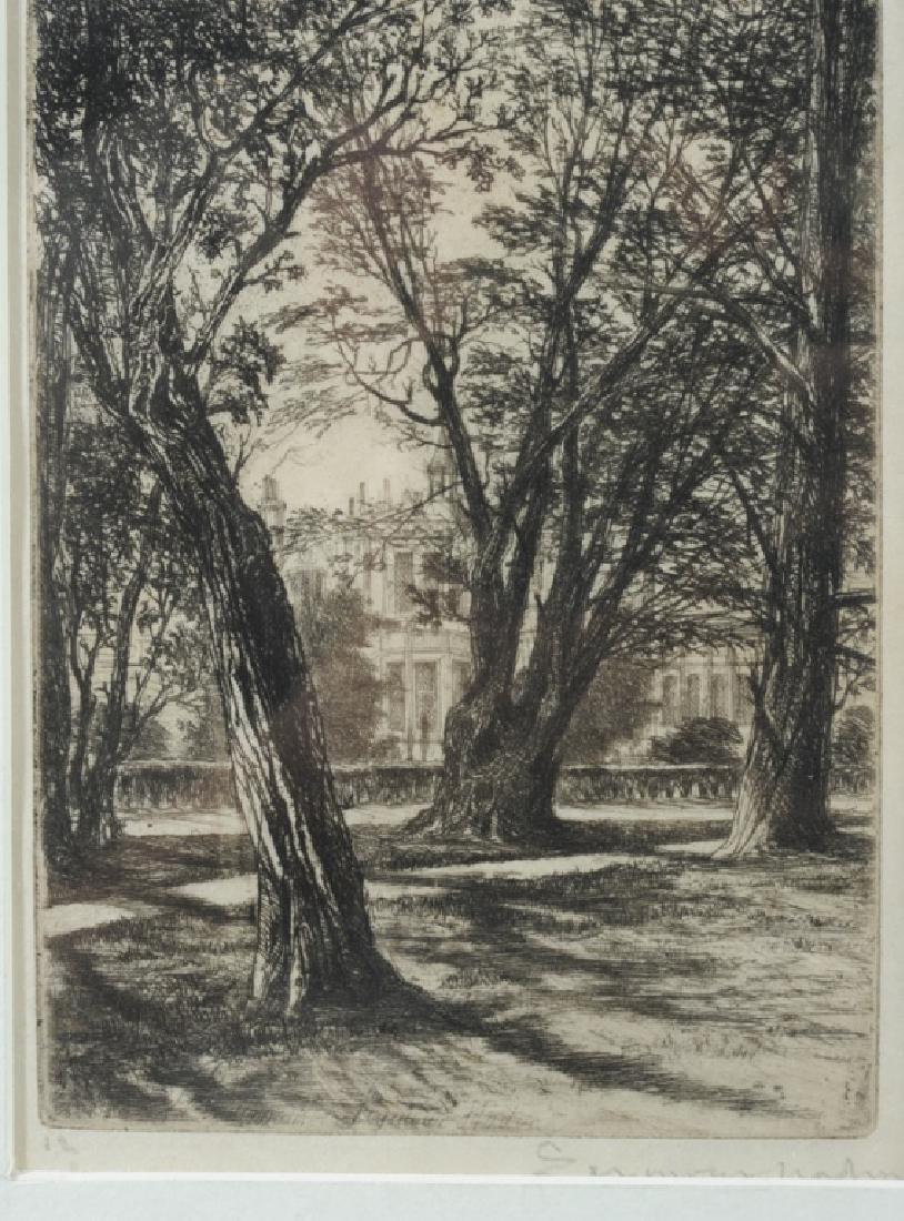 Sir Francis Seymour Haden (1818 - 1910) Etching - 2