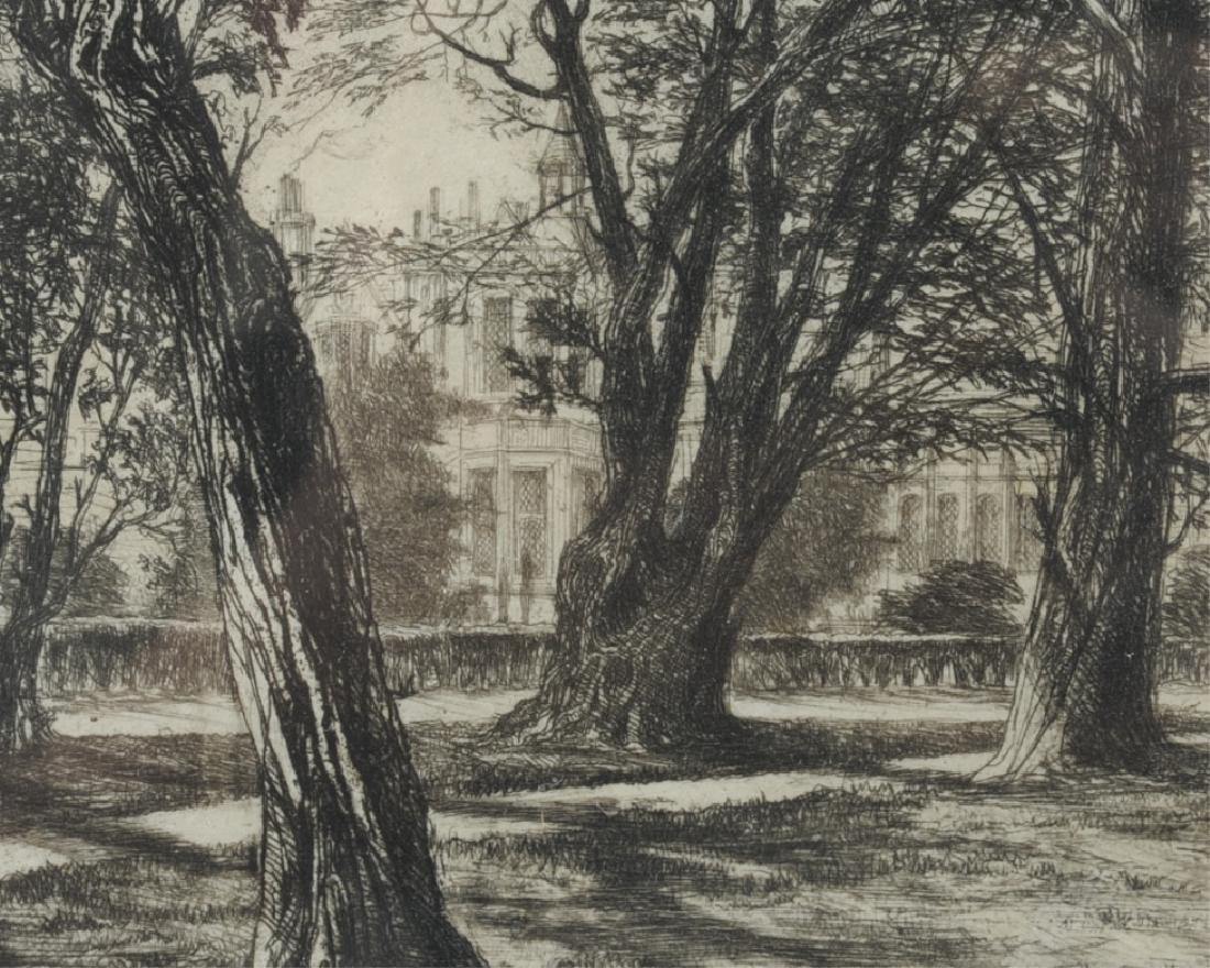 Sir Francis Seymour Haden (1818 - 1910) Etching - 3