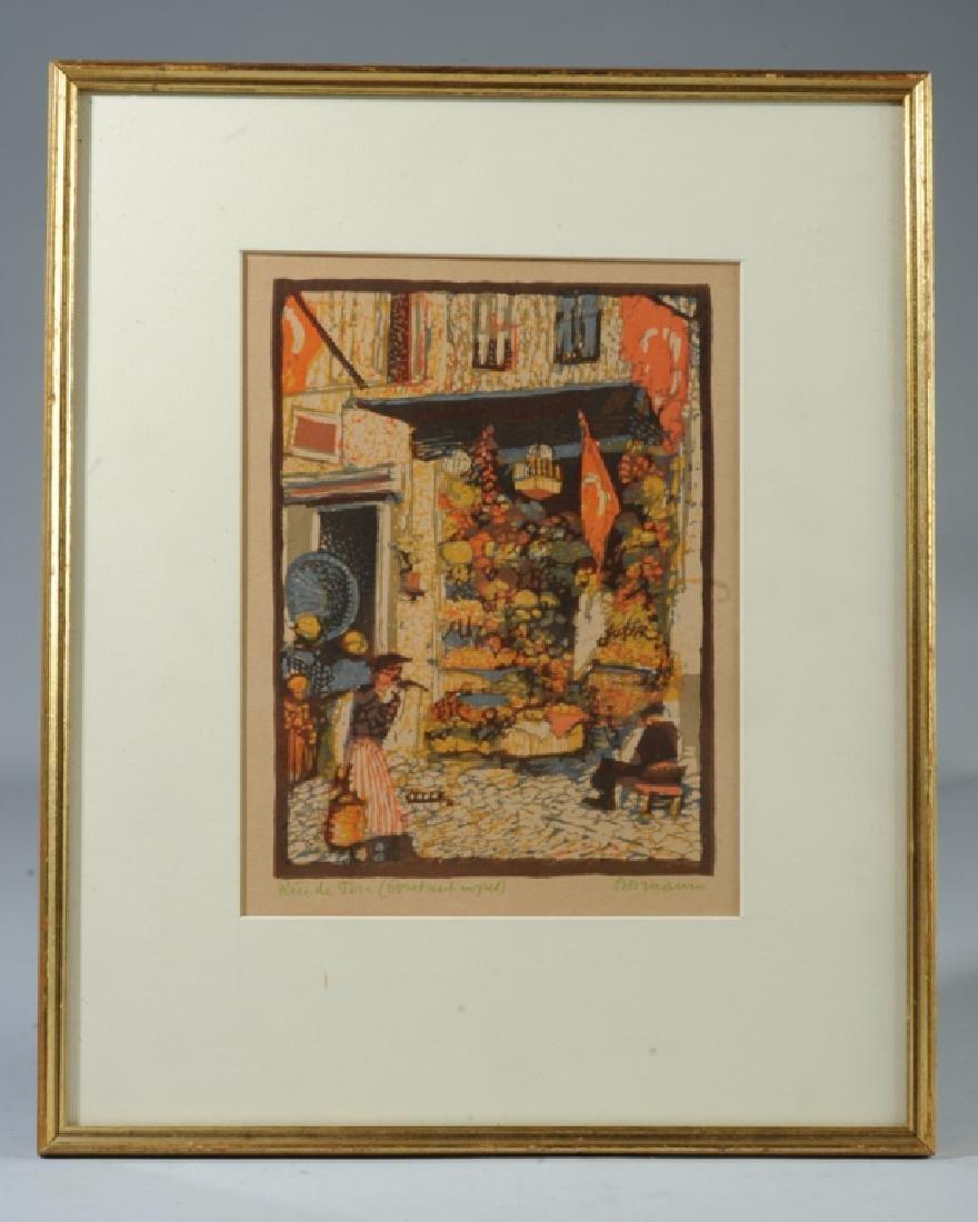 Emma Bormann  (1887 - 1974) Signed Woodcut Print