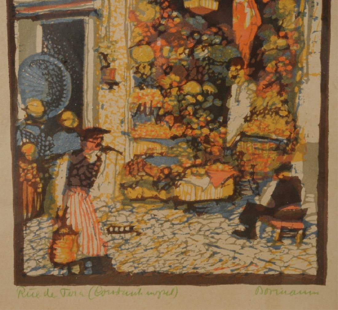 Emma Bormann  (1887 - 1974) Signed Woodcut Print - 2