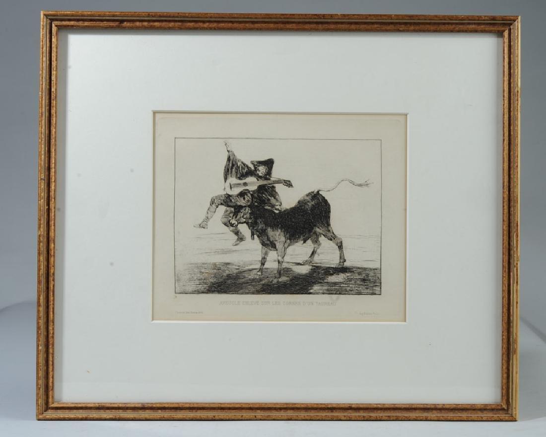 Francisco de Goya (1746-1828) Etching