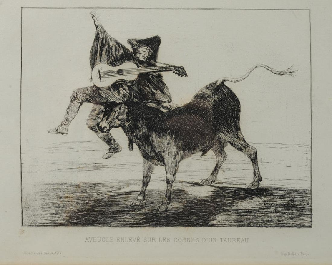Francisco de Goya (1746-1828) Etching - 2