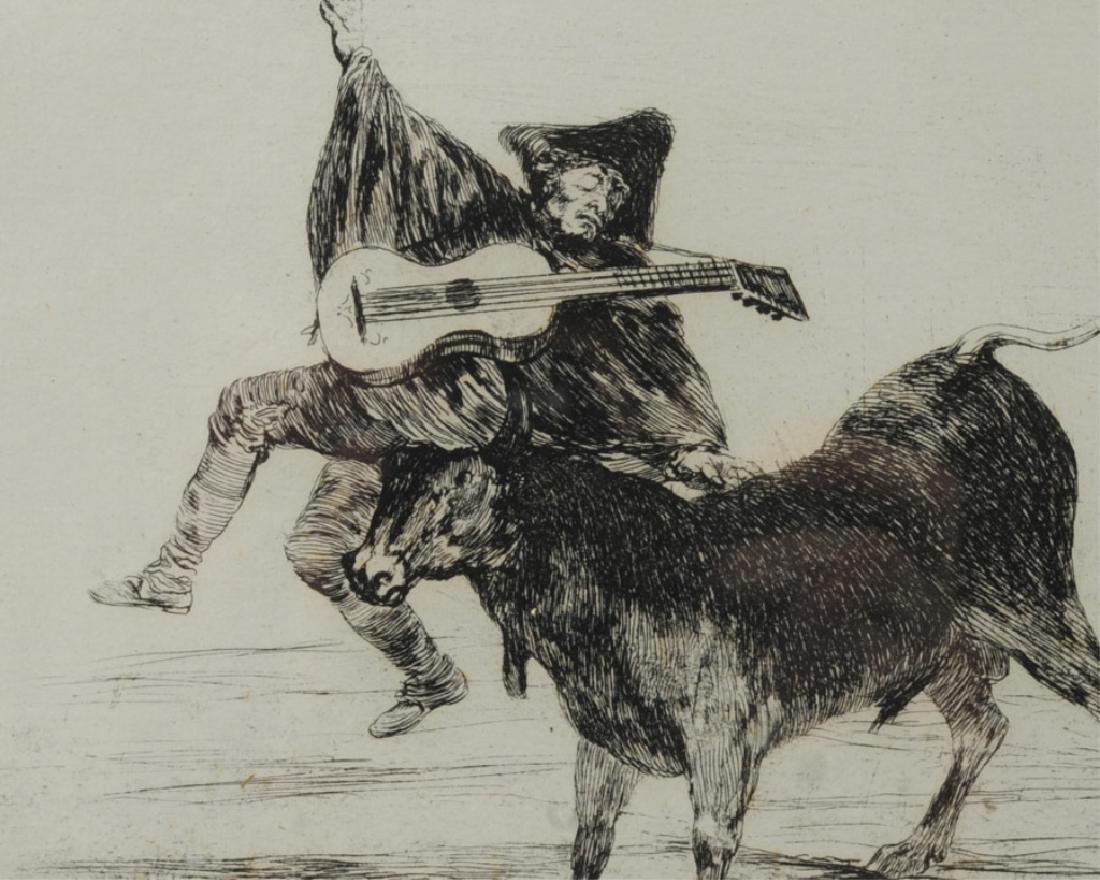 Francisco de Goya (1746-1828) Etching - 3