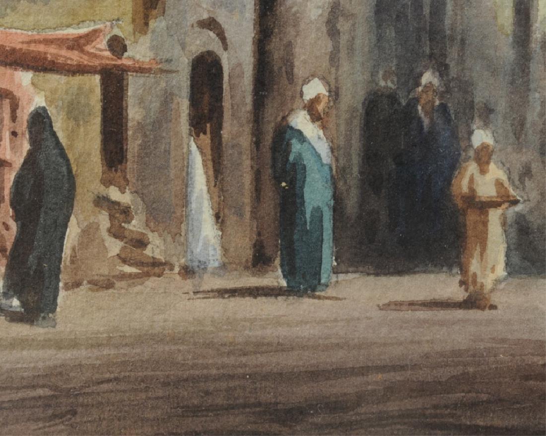 Edwin Lord Weeks Orientalist Street Scene - 4
