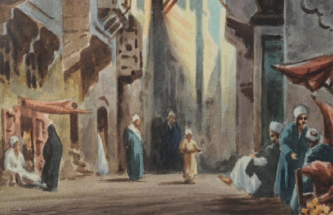 Edwin Lord Weeks Orientalist Street Scene - 5