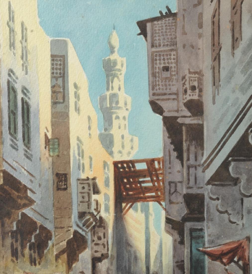 Edwin Lord Weeks Orientalist Street Scene - 6