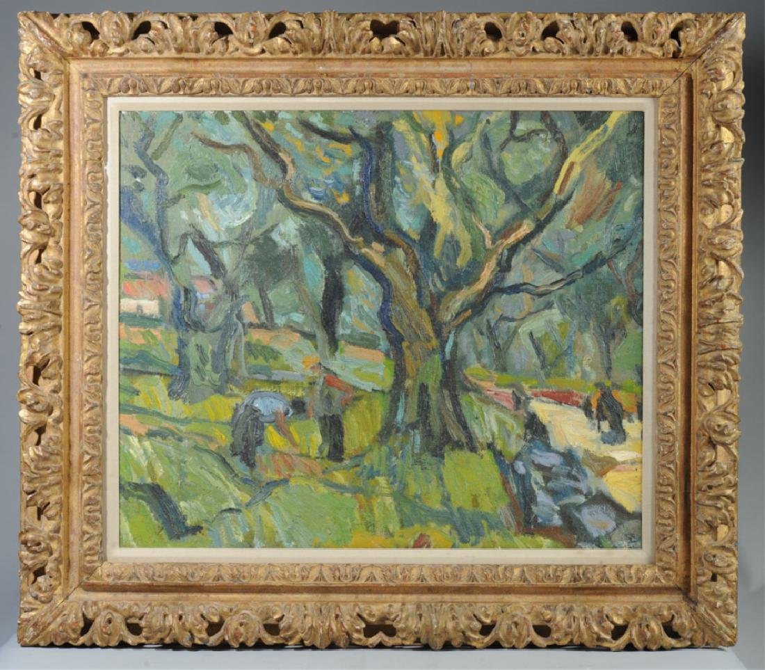 Bernard Lamotte Oil on Canvas