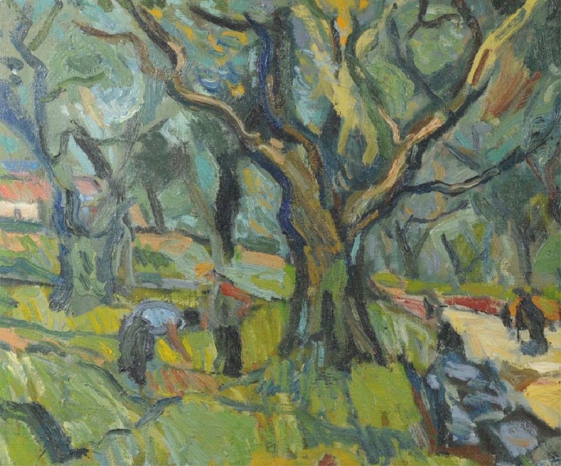 Bernard Lamotte Oil on Canvas - 2