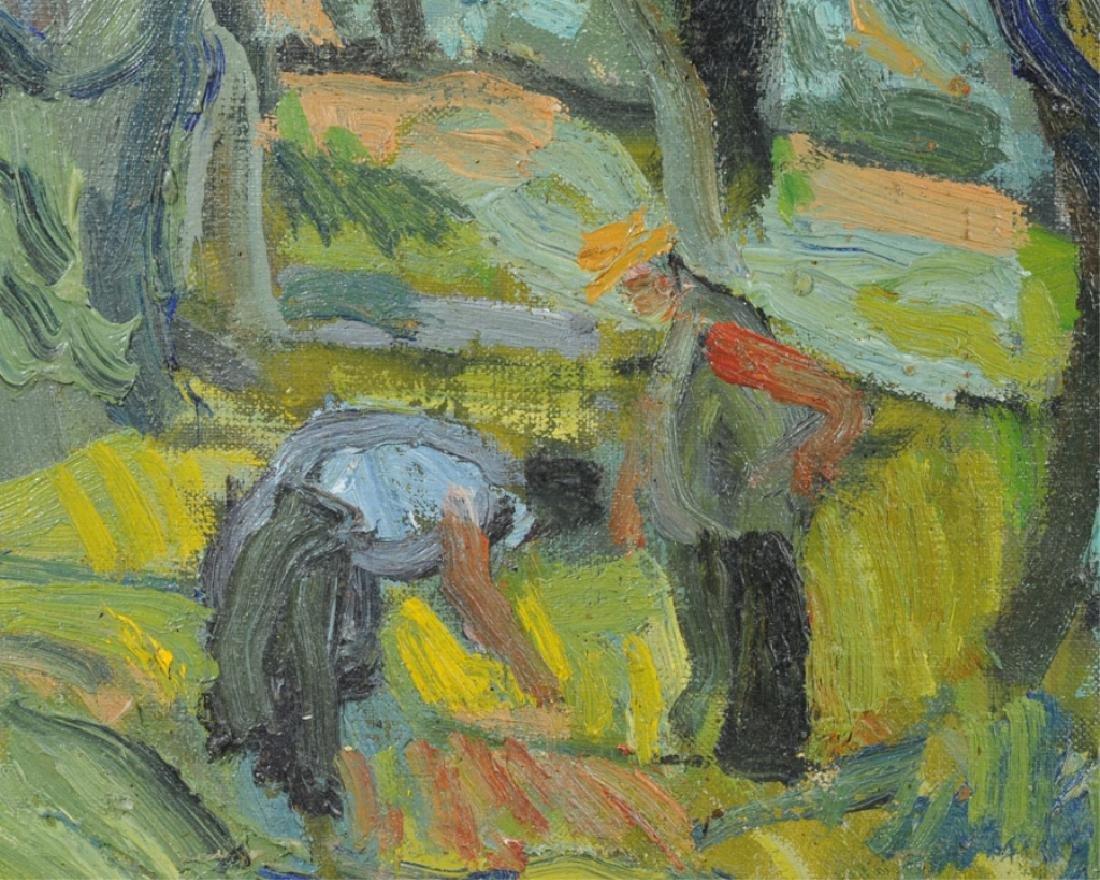 Bernard Lamotte Oil on Canvas - 3