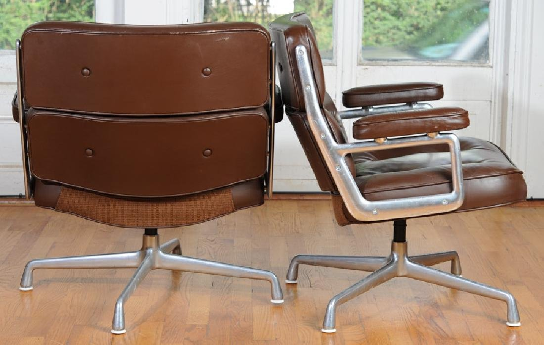 Pair of Eames Herman Miller Time Life Chairs - 3