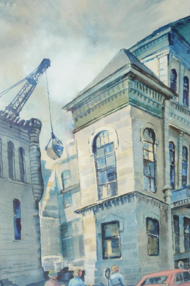 Ruth Van Sickle Ford Watercolor Urban Scene - 3
