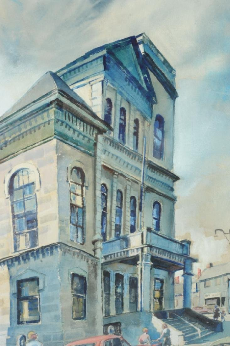 Ruth Van Sickle Ford Watercolor Urban Scene - 4