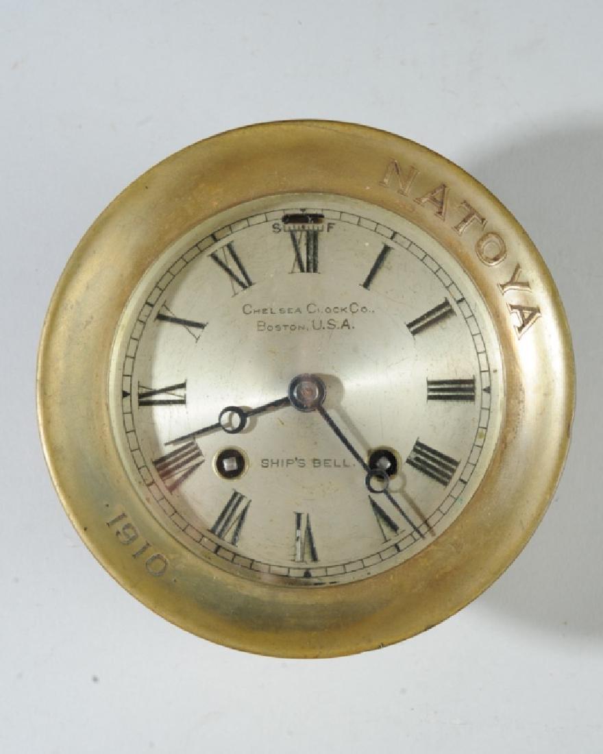 1910 Chelsea Ship's Bell Clock for the Natoya
