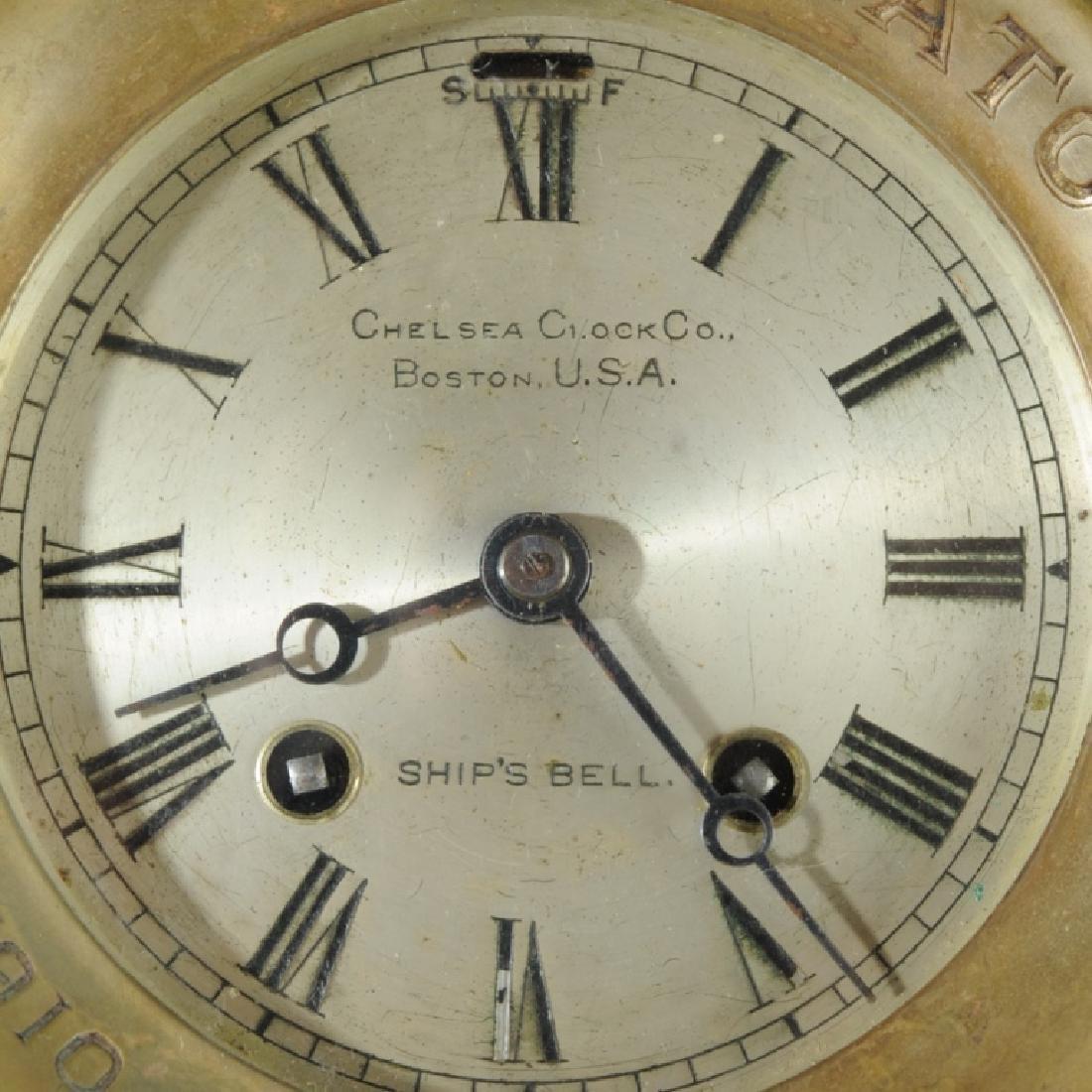 1910 Chelsea Ship's Bell Clock for the Natoya - 2