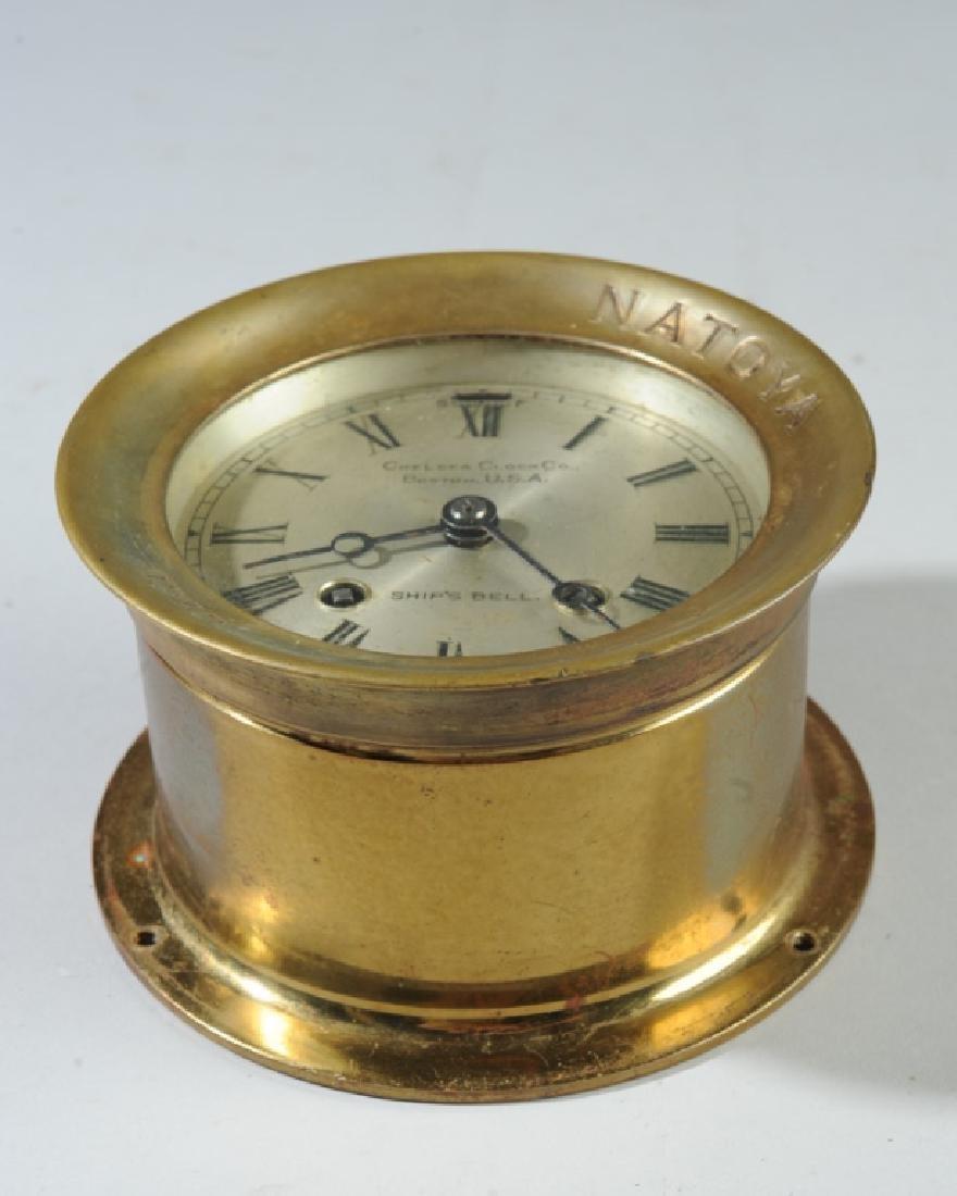 1910 Chelsea Ship's Bell Clock for the Natoya - 3